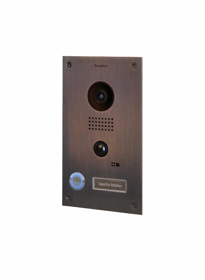 doorbird video t rstation d202b bronze unterputz edition. Black Bedroom Furniture Sets. Home Design Ideas