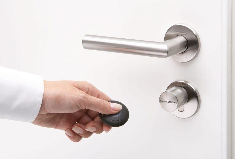 SIMONS VOSS MOBILE KEY digitaler Schliesszylinder Doppelknauf Tastersteuerung